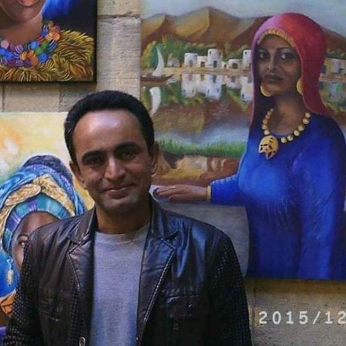 معرض الفنان التشكيلي محمد جلهوم