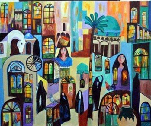 معرض الفنان التشكيلي عباس الزهاوي