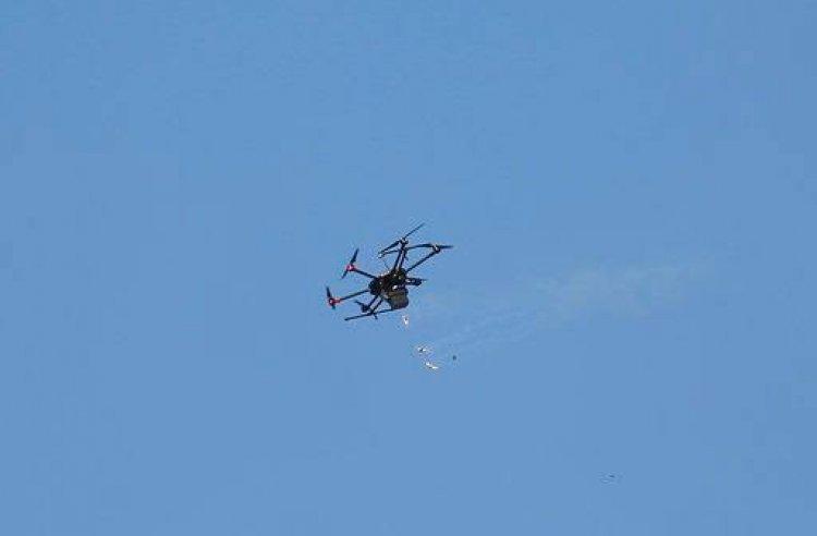 غزة: إسقاط طائرة مُسيرة للاحتلال