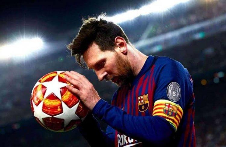 ميسي يقود فريقه برشلونة لتحقيق فوز ثمين