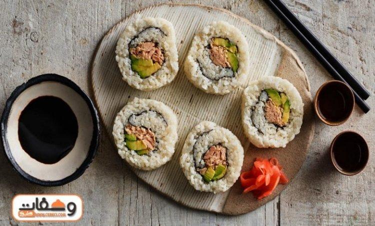 طريقة عمل السوشي بمكونات بسيطة غير مكلفة