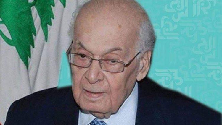 رئيس وزراء لبنان الاسبق، سليم الحص:مطمئنا لمستقبل فلسطين ومتيقناً من تحرير فلسطين من البحر الى النهر
