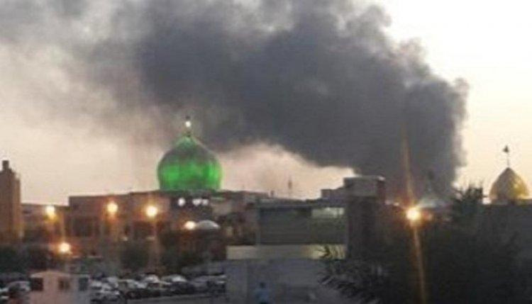 حريق ضخم جنوب العاصمة الإيرانية طهران