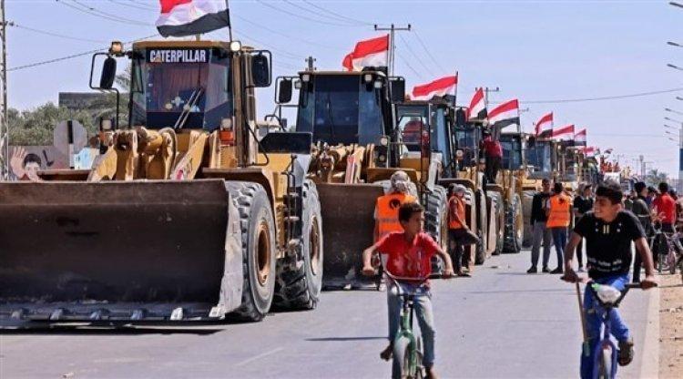 انزعاج إسرائيلي من قرار السلطات المصرية إدخال مواد البناء إلى قطاع غزة