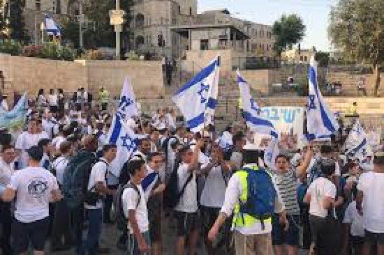تفاصيل اتفاق الشرطة الإسرائيلية مع منظمي ( مسيرة الأعلام )