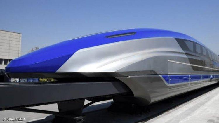 الصين تنتهي من انتاج أسرع قطار على وجه الأرض بنظام النقل المغناطيسي