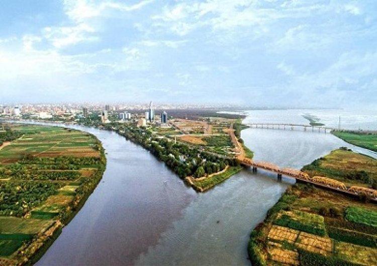 السودان: منسوب النيل الأزرق، أبرز روافد نهر النيل بلغ  درجة الفيضان