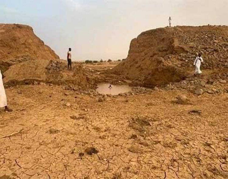 انهيار سد كندية بولاية دارفور السودانية