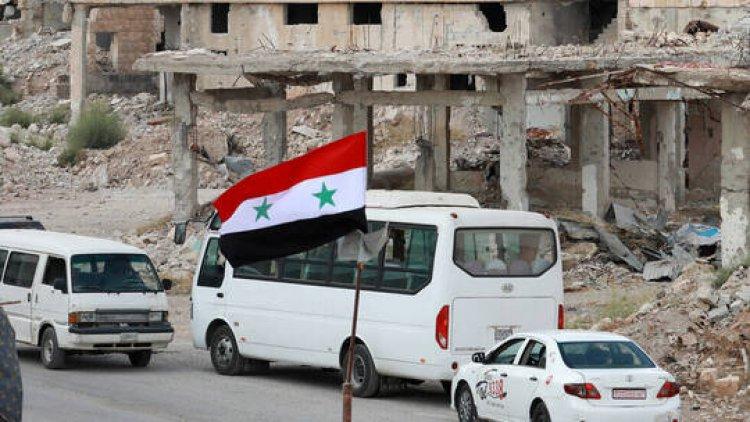 الجيش السوري يبدأ تمشيط قرى نصيب وأم المياذن والطيبة جنوب شرق مدينة درعا