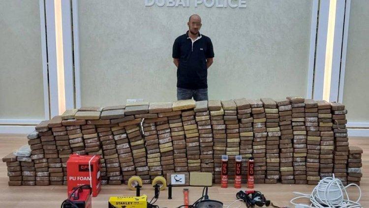 إسرائيلي يهرب نصف طن كوكايين إلى الإمارات وشرطة دبي تعتقله متلبساً
