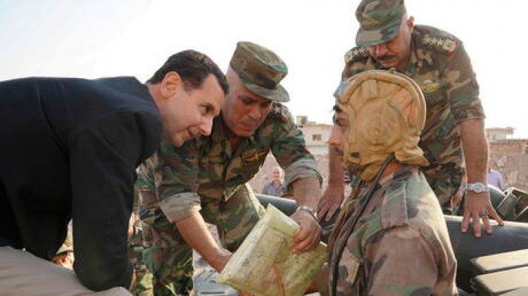 الأسد يصدر أمرابإنهاء الاحتفاظ والاستدعاء في الجيش السوري